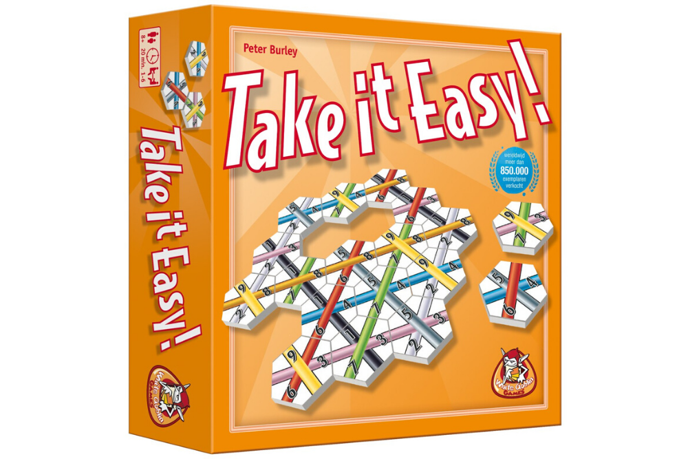 Review Take it Easy White Goblin Games
