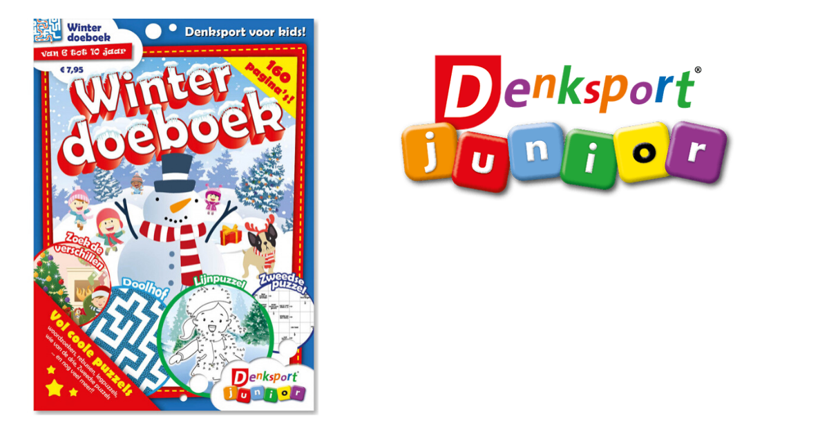 Winterdoeboek van Denksport Junior