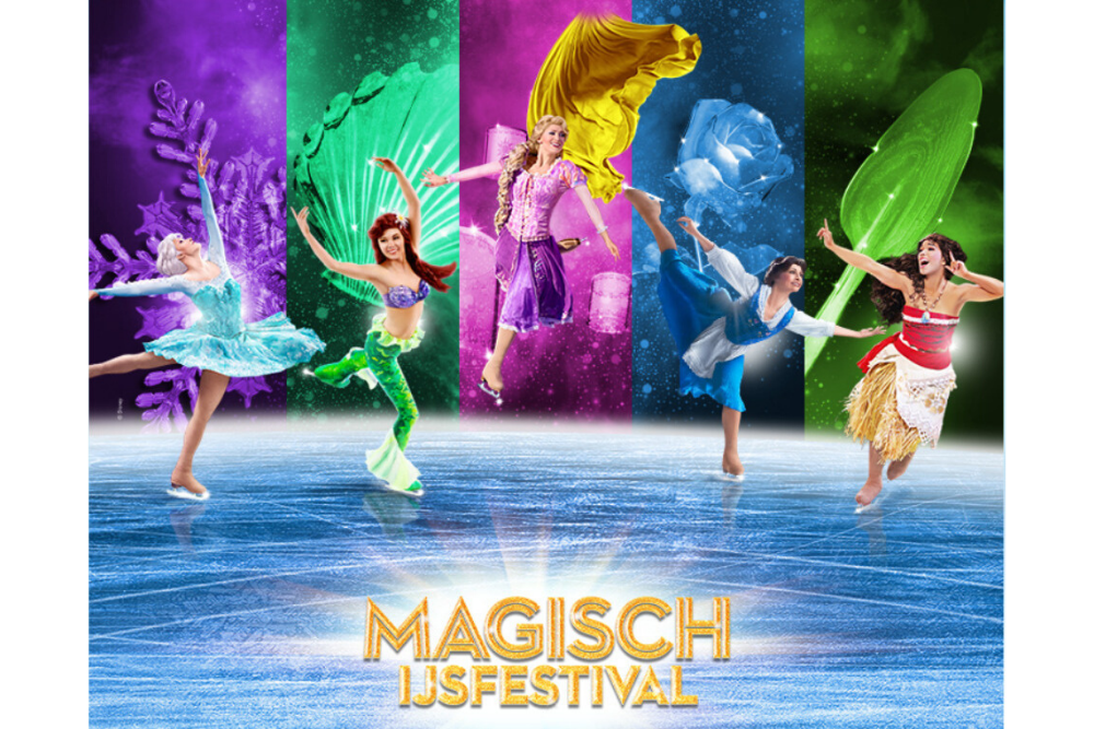 Disney on Ice magisch ijsfestival in de Jaarbeurs in Utrecht