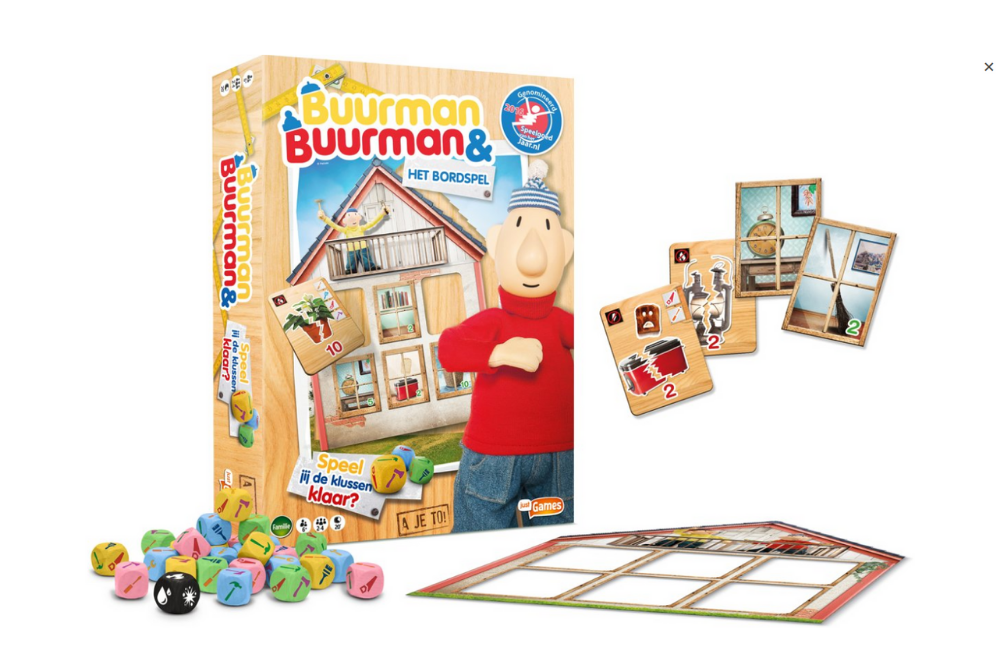 Buurman & Buurman het Bordspel Just Games