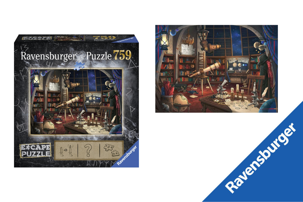 Escape Puzzel de Sterrenwacht Ravensburger