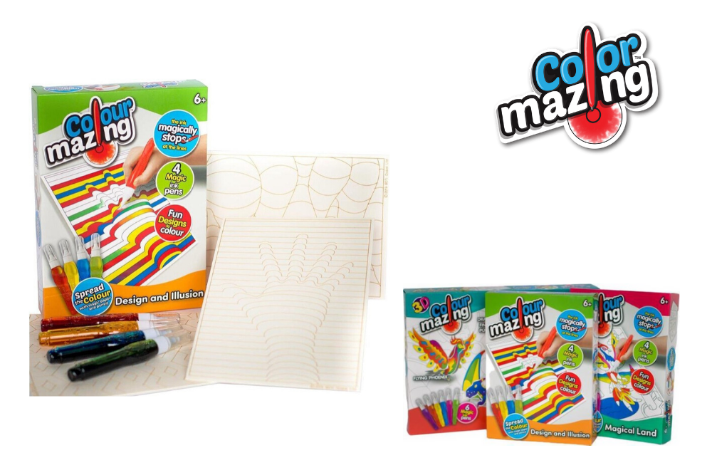 Colour Mazing Nieuwe sets