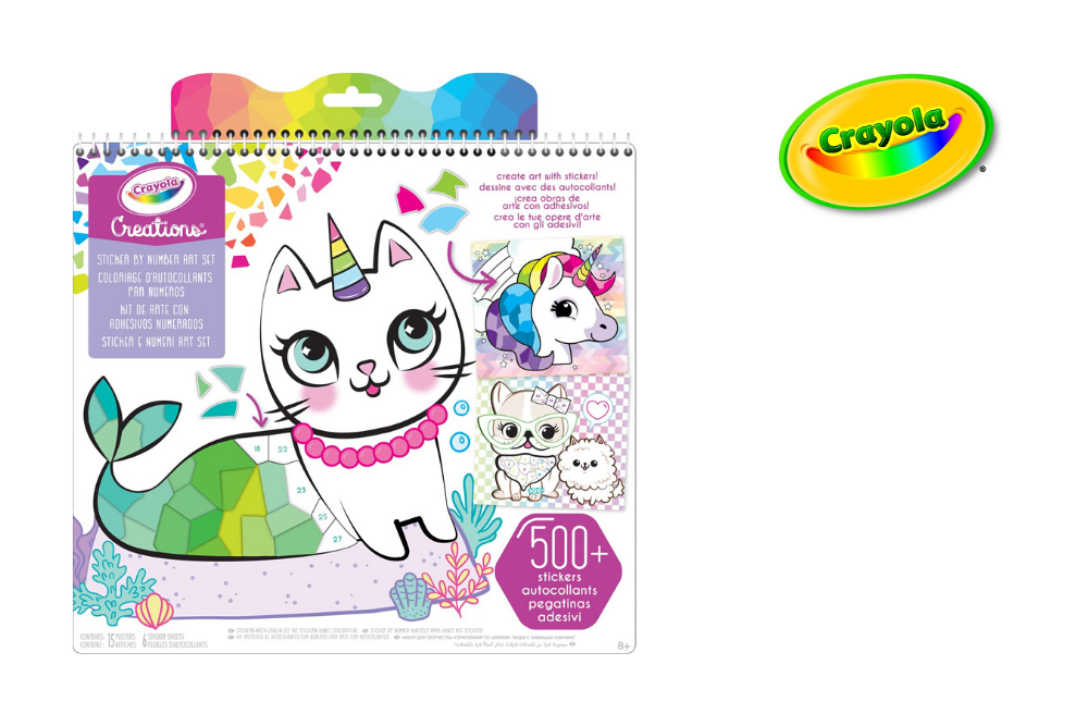 Crayola Creations Sticker op nummer