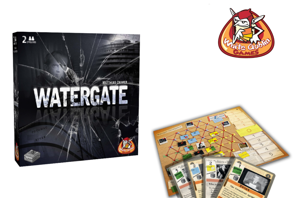 Watergate tweepersoonsspel white goblin games