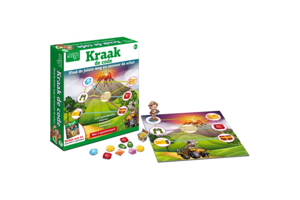Kraak de Code van Learning Kitdz Boosterbox