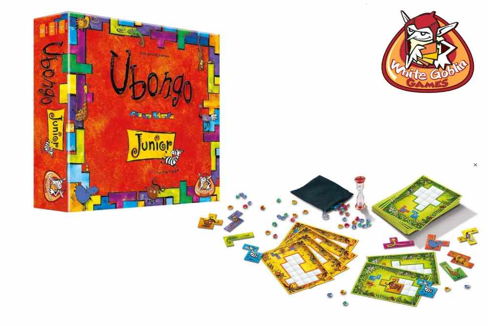 Ubongo Junior van White Goblin Games