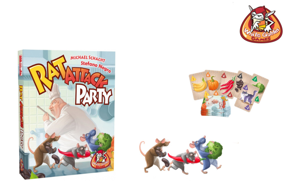 Rat Attack Party - White Goblin Games