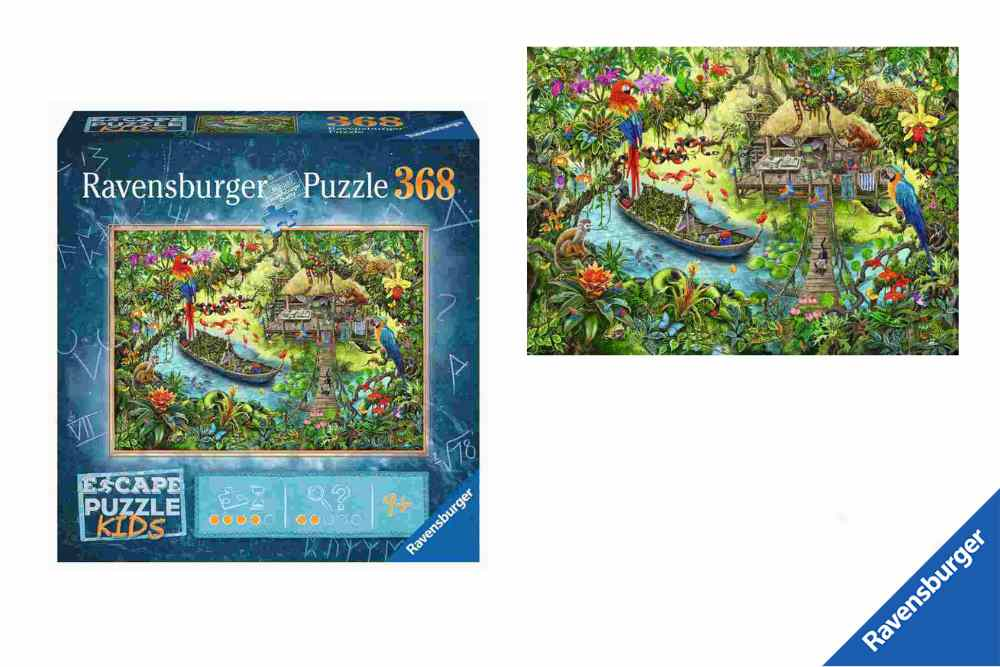 Escape Puzzel Kids Jungle