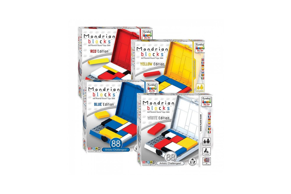 Mondrian Blocks 4 edities